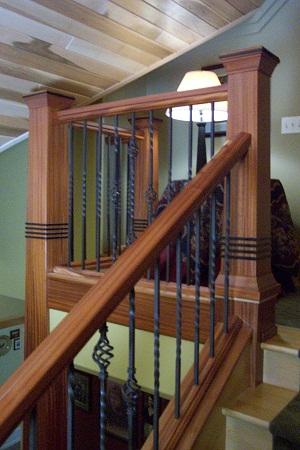 Staircase, African Mahogany