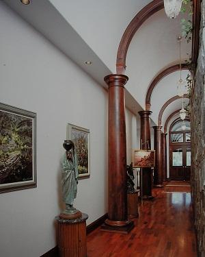 Turned Alder Columns, residence
