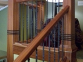 Staircase, African Mahogany